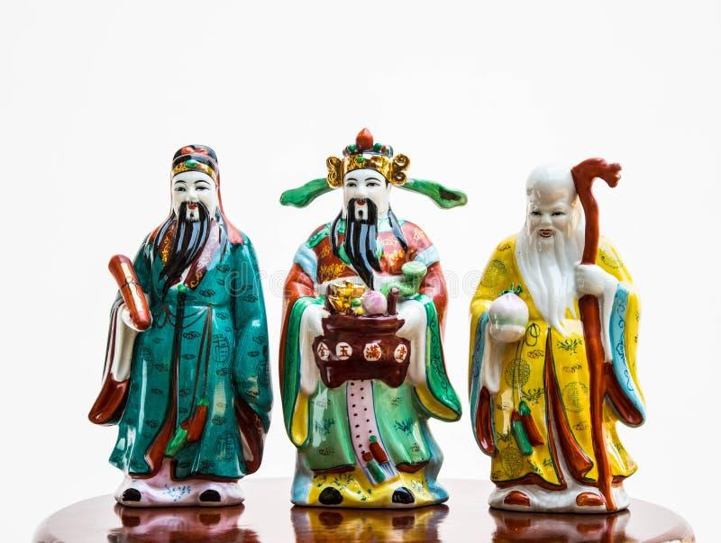 Fu, lu, Shou стоковые изображения