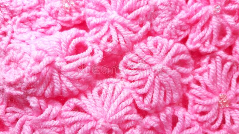 Fuchsia color knitted photo delicate texture, background. Fashion pattern modern, backdrop surface empty. Fuchsia color knitted photo delicate texture royalty free stock photo