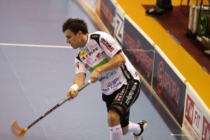 Fucilazione Zdenek Zak - giocatore del floorball
