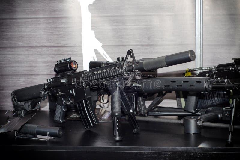 Fucile di assalto differente fotografia stock