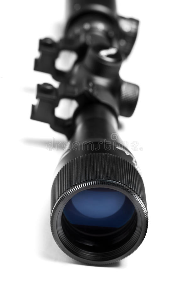 Fucile di caccia con portata immagini stock libere da diritti