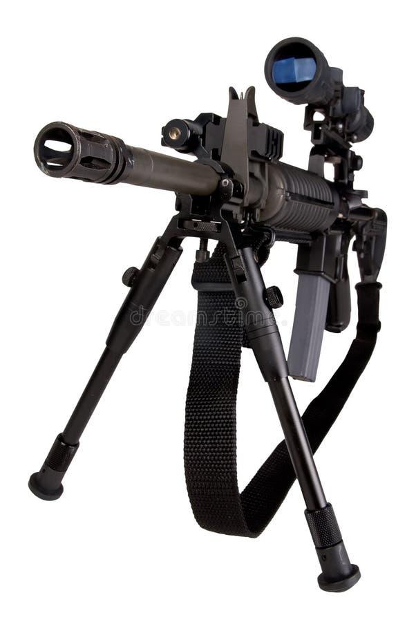 Fucile militare fotografie stock libere da diritti