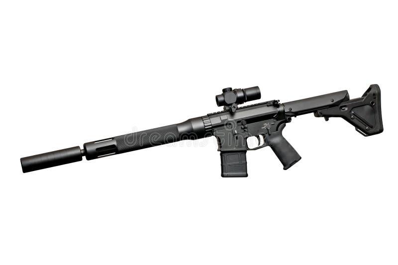 Fucile semiautomatico di assalto fotografia stock libera da diritti