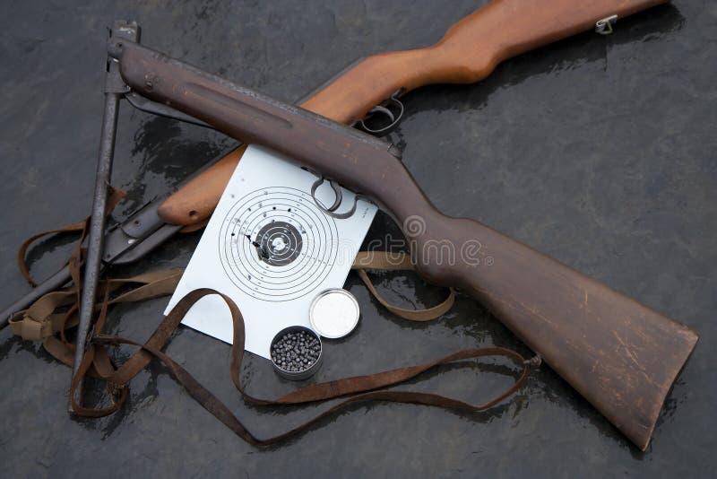 Fucili ad aria compressa immagine stock