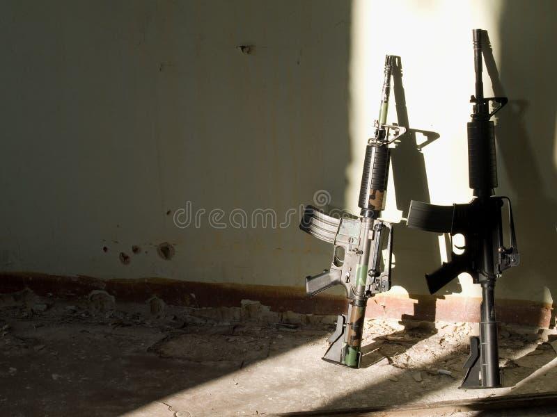Fucili di assalto degli Stati Uniti fotografie stock libere da diritti