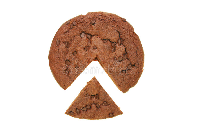 fudge шоколада пирожня стоковая фотография rf