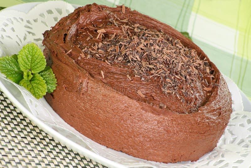fudge шоколада торта весь стоковые изображения rf
