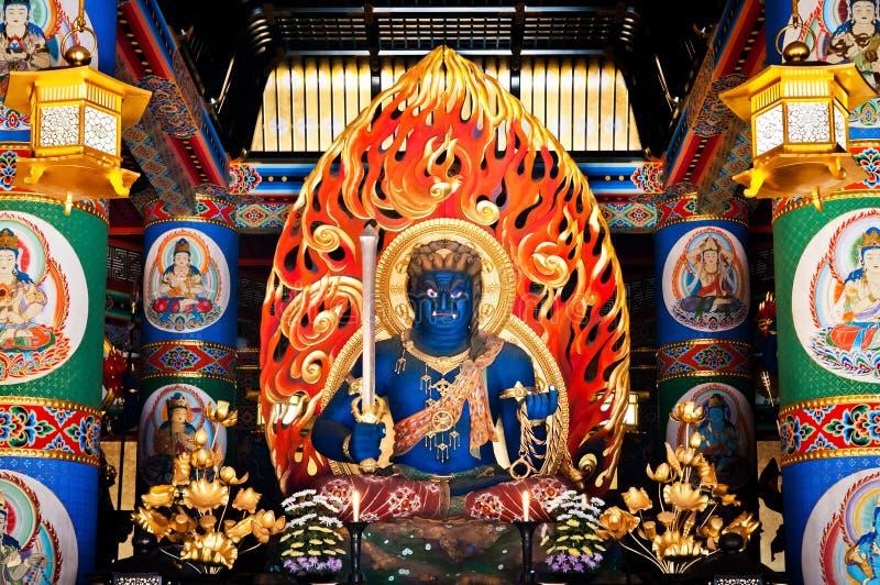 Fudo Myoo van Narita San Shinsho ji tempel, Narita, Chiba, Japan royalty-vrije stock afbeelding