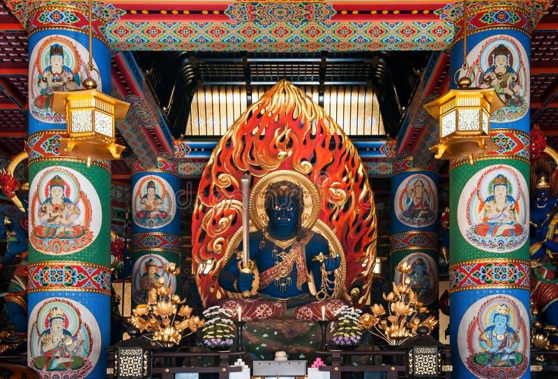 Fudo Myoo van Narita San Shinsho ji tempel, Narita, Chiba, Japan stock foto