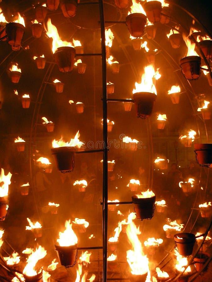 Fuego royalty free stock photo