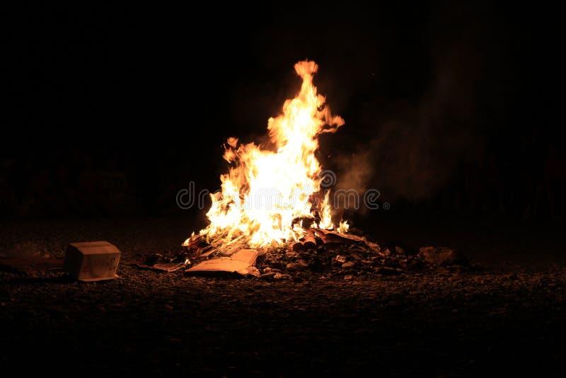 Fuego 1 foto de archivo libre de regalías