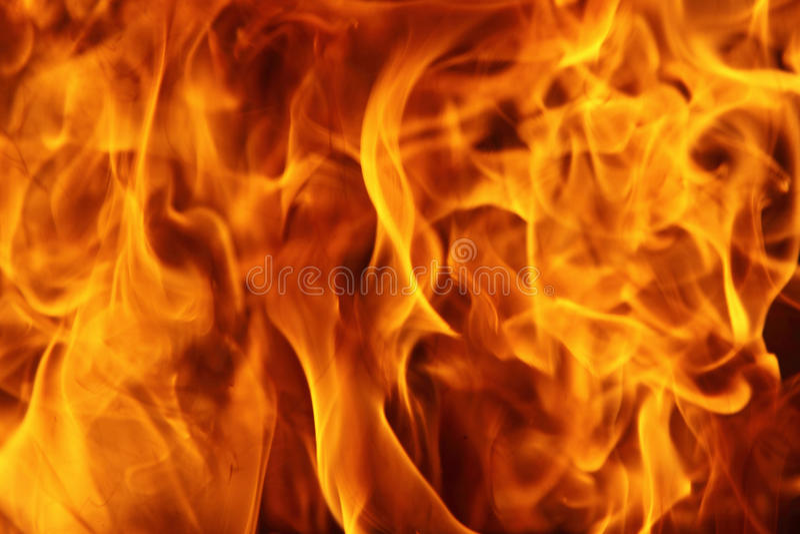 Fuego ardiente imagen de archivo libre de regalías