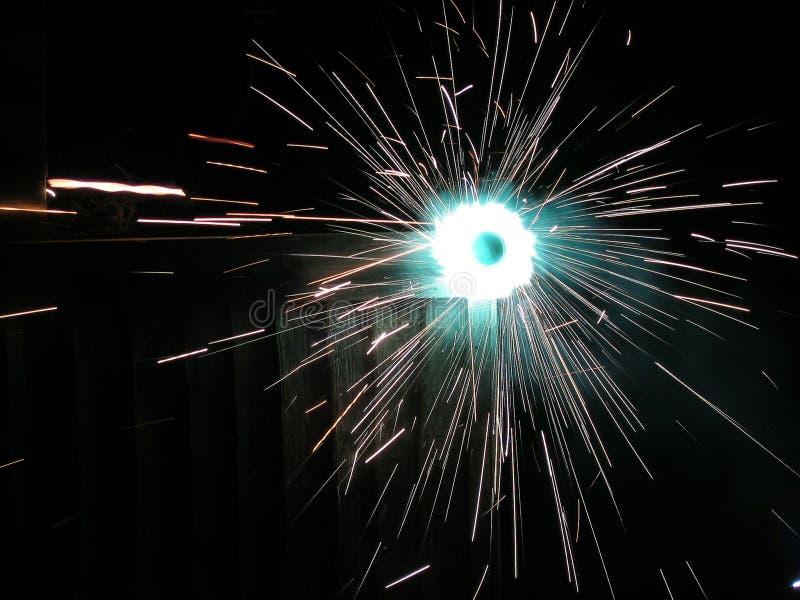 Fuego Artificial Foto de archivo libre de regalías