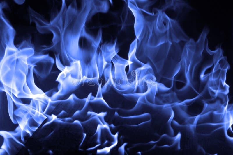 Fuego azul fotos de archivo libres de regalías