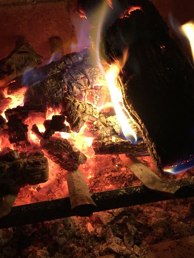 Fuego caliente imágenes de archivo libres de regalías