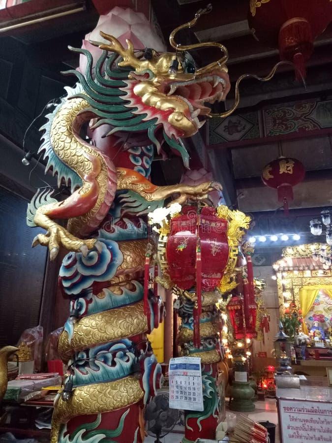 Fuego con el dragón imagen de archivo libre de regalías