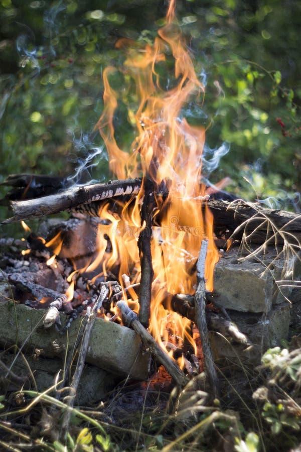 Fuego de The Game imagen de archivo