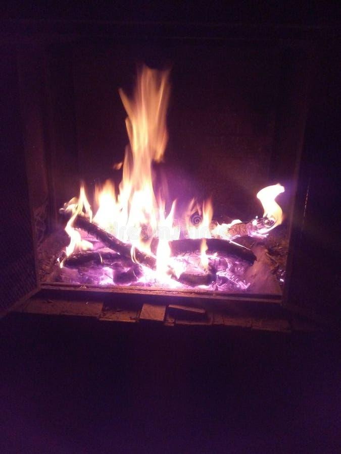 Fuego de la caída foto de archivo libre de regalías