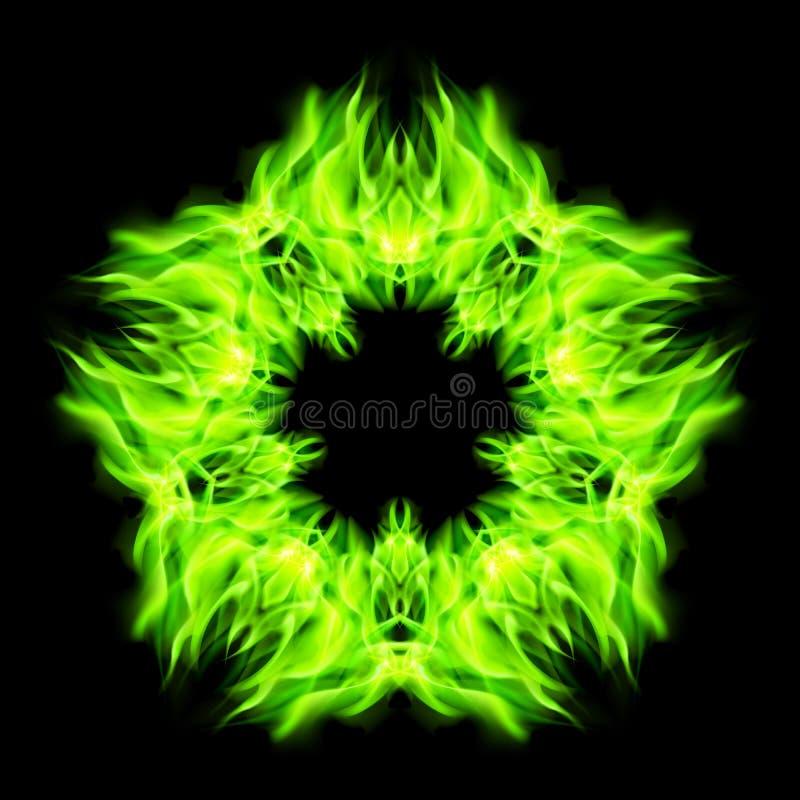 Download Fuego de la estrella ilustración del vector. Ilustración de fondos - 41902398
