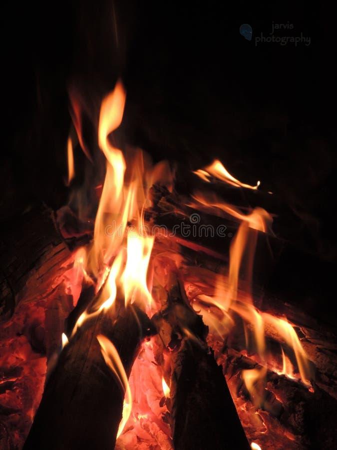 Fuego del Bon imagenes de archivo