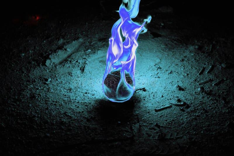 Fuego Dragon Egg foto de archivo