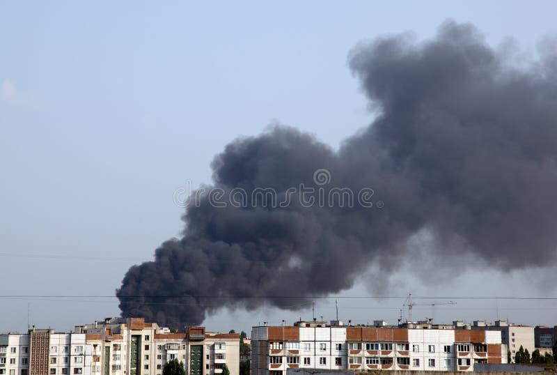 Fuego en la ciudad