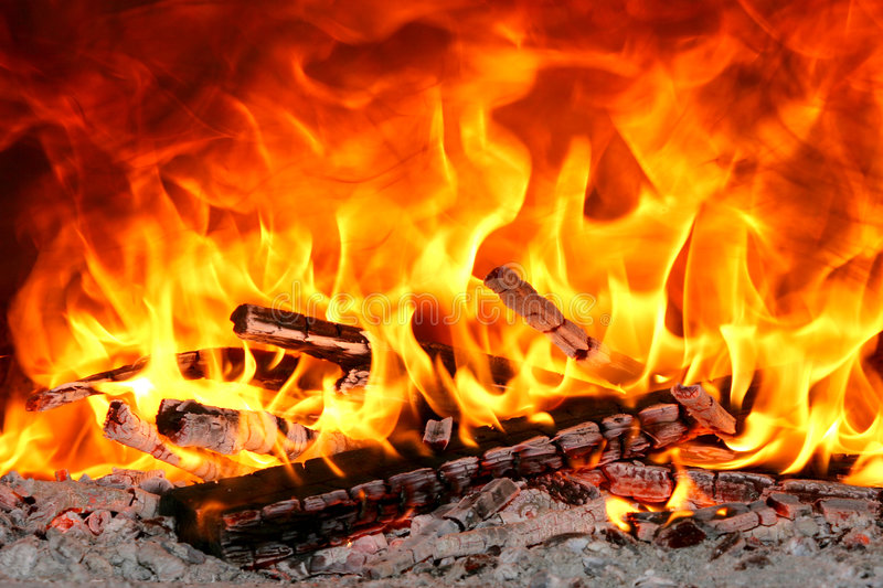 Fuego grande fotos de archivo