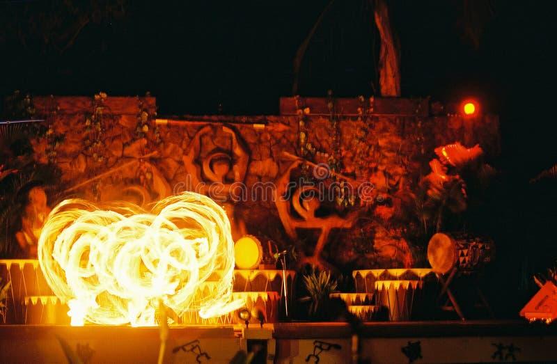 Fuego hawaiano I imagenes de archivo