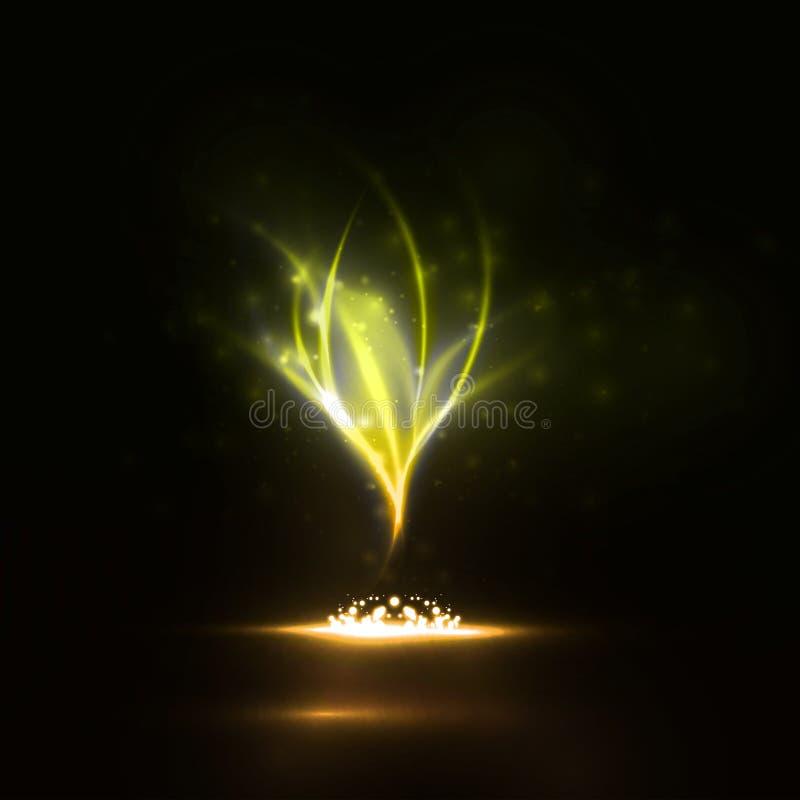 Fuego mágico libre illustration