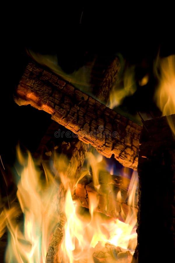 Fuego profundo imágenes de archivo libres de regalías