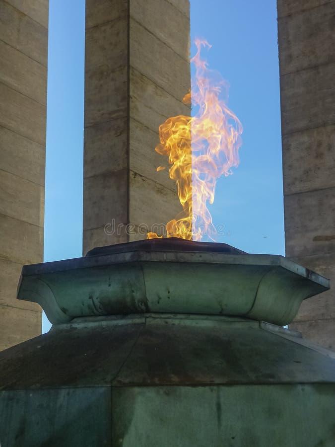 Fuego simbólico fotos de archivo libres de regalías