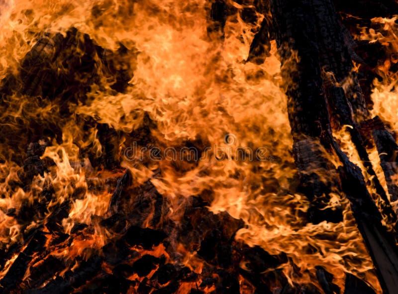 Download Fuego y llamas foto de archivo. Imagen de hueco, campfire - 42431074