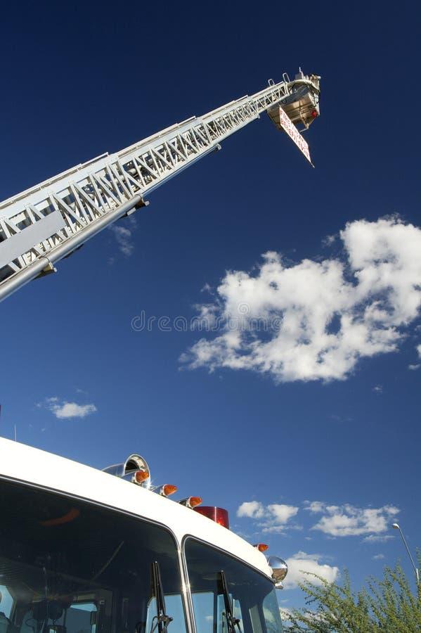 Fuego y rescate fotografía de archivo