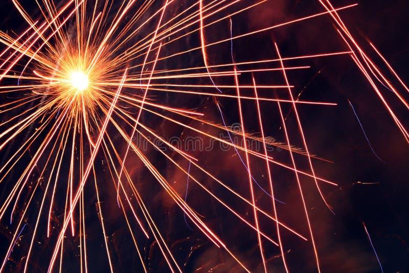Fuegos artificiales/fondo fotografía de archivo libre de regalías