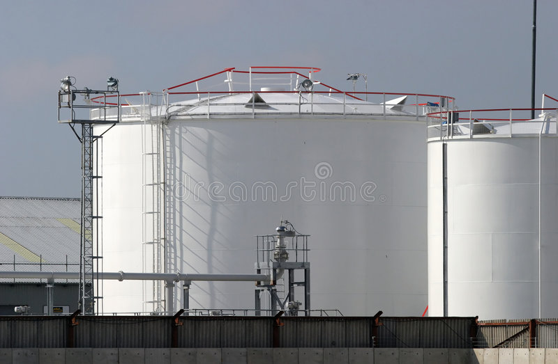 Fuel Depot royalty free stock photography