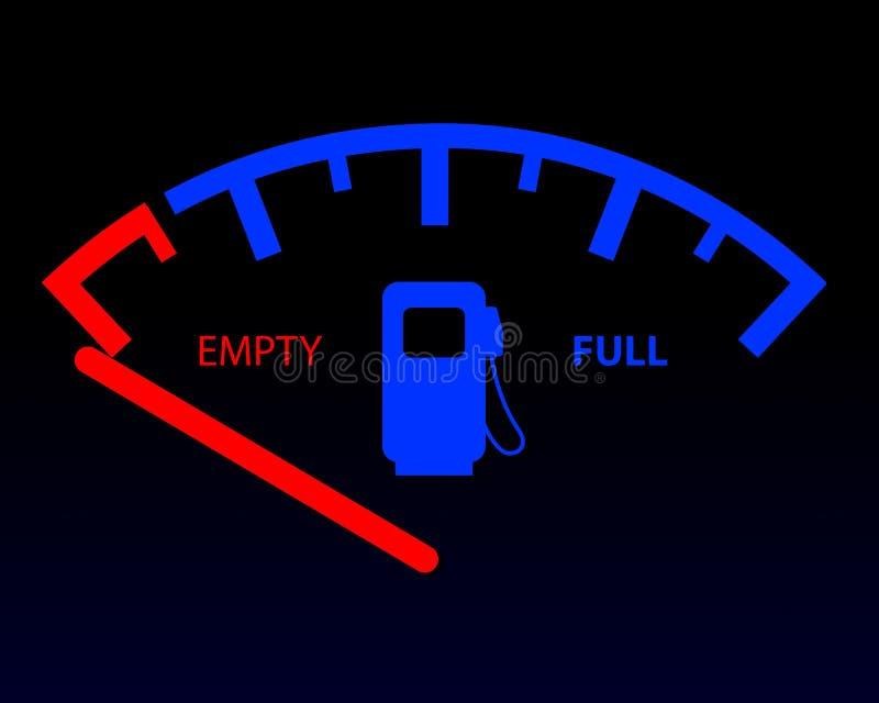 Download Fuel gauge stock image. Image of pump, anzeige, benzine - 23875821