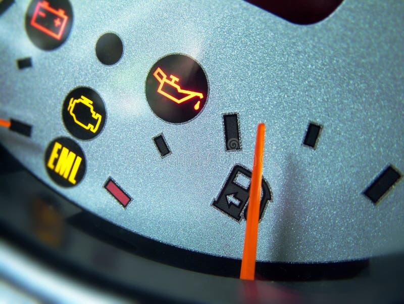 fuel gauge στοκ φωτογραφίες