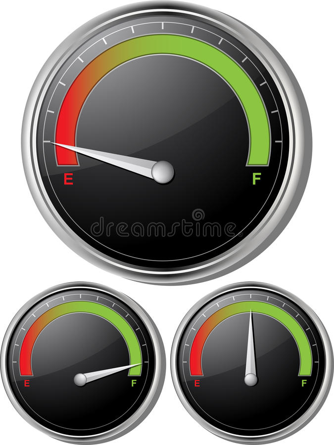 Free Fuel Gauges Stock Photography - 19623932