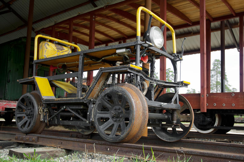 Fuel Powered Trolley Stock Photos