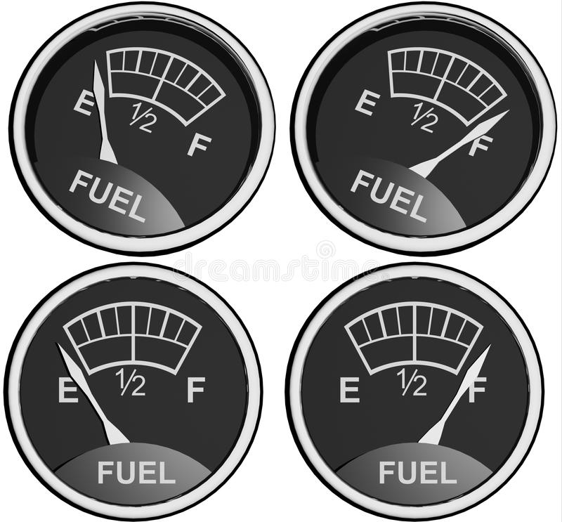 Fuel sensor royalty free stock photography