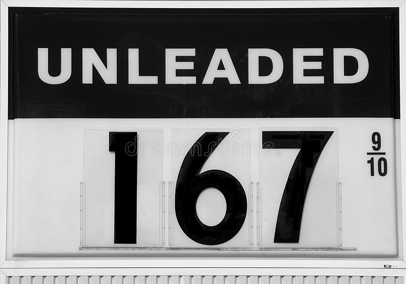 Download Fuel Sign Showing Gas Prices Going Down Stock Photo - Image: 7265652