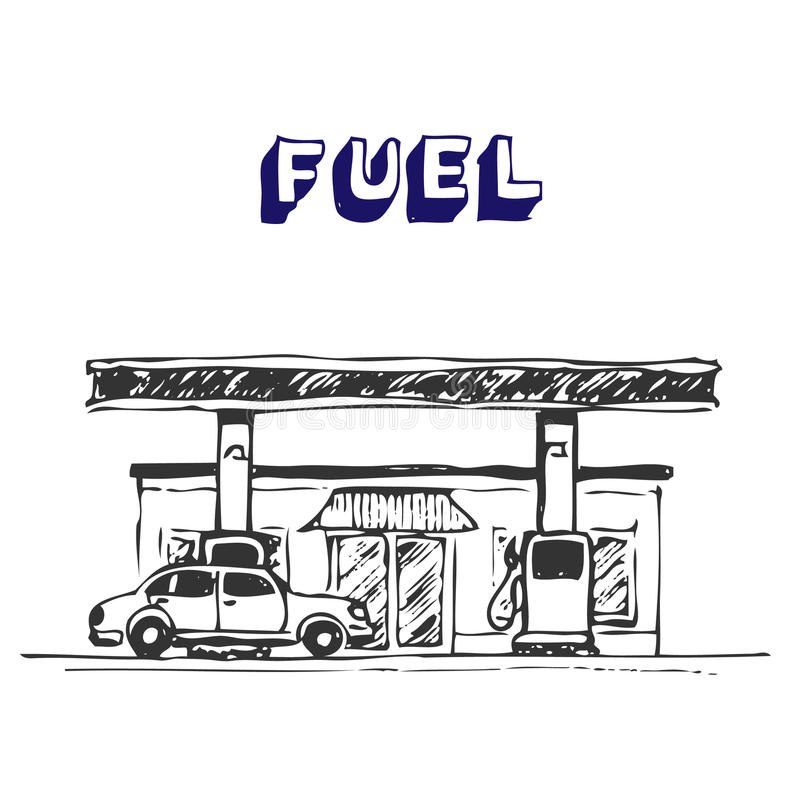 Download Fuel Station Royalty Free Stock Photo - Image: 25036285