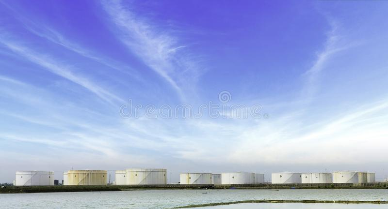 Download Fuel storage tanks stock photo. Image of container, architecture - 35544382