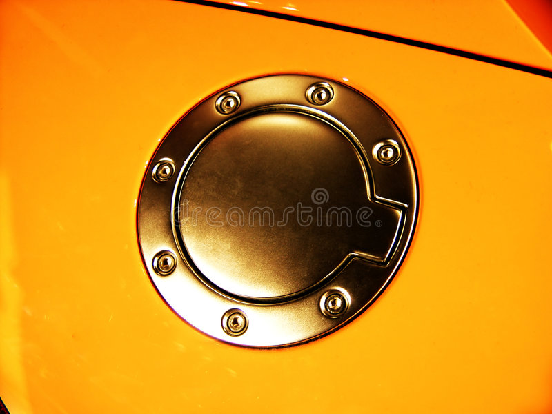 Fuel tank of the car royalty free stock images