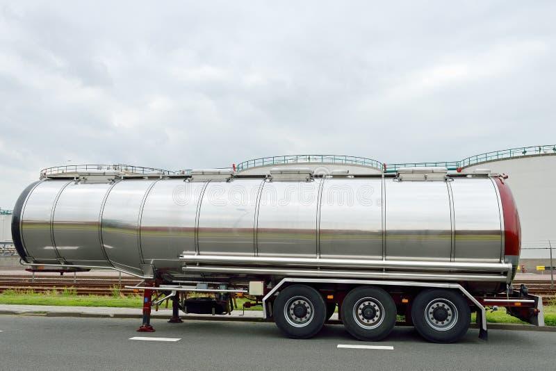 Download Fuel tanker semi-truck stock image. Image of liquid, transport - 25609879