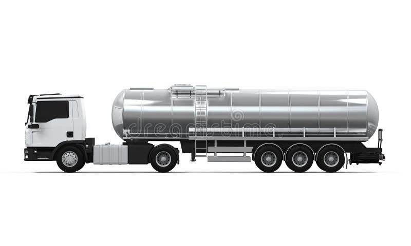 Fuel Tanker Truck vector illustration