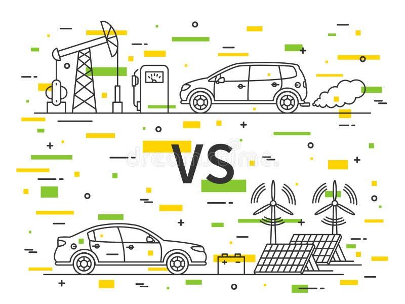 Electric Car Vs Gasoline Car Efficiency
