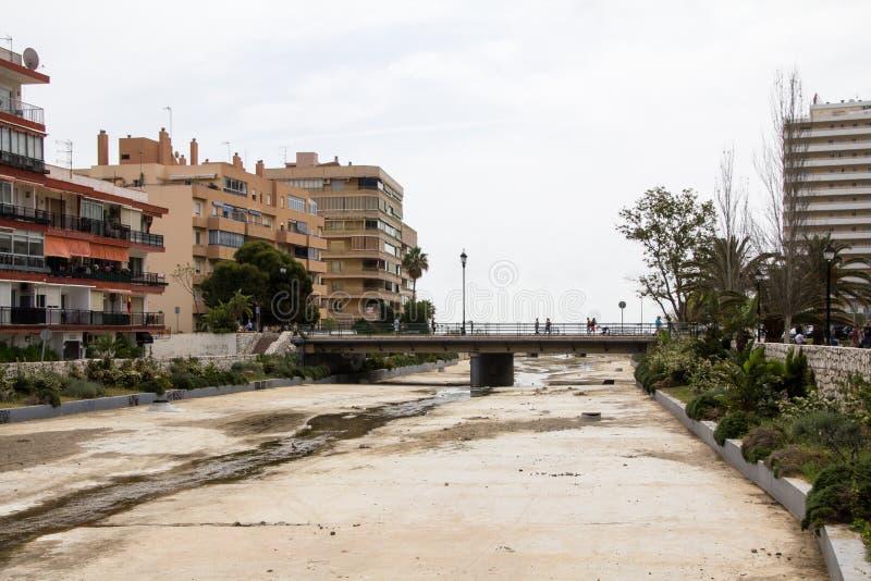 Fuengirola Spagna immagini stock libere da diritti