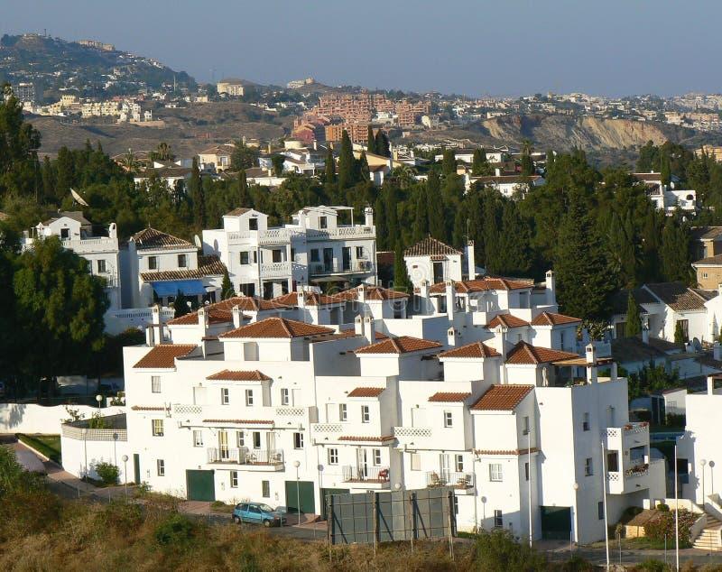 Fuengirola Spanje stock foto's