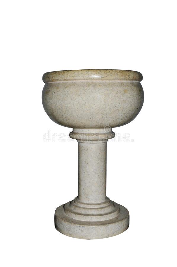 Fuente bautismal imágenes de archivo libres de regalías